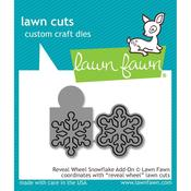 Reveal Wheel Snowflake Add-On Craft Die - Lawn Fawn