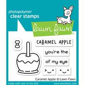 Caramel Apple Clear Stamps - Lawn Fawn