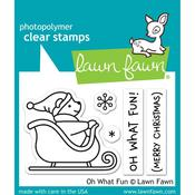 Oh What Fun Clear Stamps - Lawn Fawn
