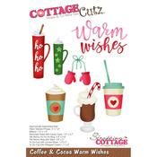 Coffee & Cocoa Warm Wishes Die - Cottage Cutz - PRE ORDER