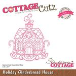 Holiday Gingerbread House Die - Cottage Cutz - PRE ORDER