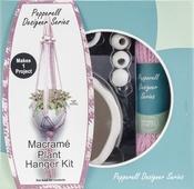 Pink - Pepperell Designer Macrame Plant Hanger Kit