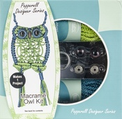 Pepperell Designer Macrame Owl Kit