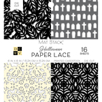 """Fall Paper Lace - DCWV Single-Sided Cardstock Stack 6""""X6"""" 16/Pkg"""