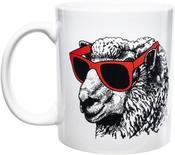 White - K1C2 Knit Happy Mug 11oz
