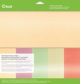"Pastels - Cricut 12""X12"" Pearl Paper Sampler"