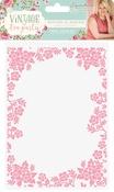 "Botanical Border - Vintage Tea Party Embossing Folder 5""X7"""
