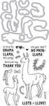 Llama - Hero Arts Stamp & Cut