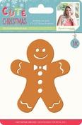 Jolly Gingerbread Man - Sara Davies Signature Cute Christmas Metal Dies