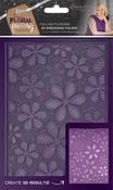 Falling Flowers - Sara Davies Signature Floral Fantasy 3D Embossing Folder
