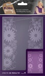 Bouquet Borders - Sara Davies Signature Floral Fantasy 3D Embossing Folder