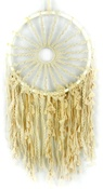 "Macrame Hoop W/Braided Sun 29"" Wall Hanging"
