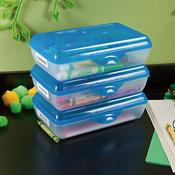 """8.625""""X5.75""""X2.5"""" Splash Tint - Sterilite Pencil Storage Box"""