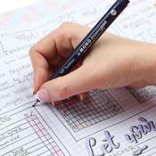 0.1mm, 0.3mm & 0.5mm Black - Tombow MONO Drawing Pens 3/Pkg