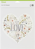 Love Heart-Large - Cricut Iron On Designs