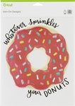 "Sprinkles Your Donut-Large - Cricut Iron On Designs 8.5""X12"""