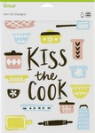 "Kiss The Cook-Large - Cricut Iron On Designs 8.5""X12"""