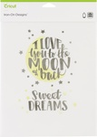 "Love You To The Moon-Large - Cricut Iron On Designs 8.5""X12"""