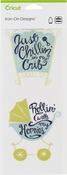 """Just Chillin Rollin-Small - Cricut Iron On Designs 4.25""""X12"""""""