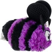 Small-Purple - goDog Bugs Bee with Chew Guard