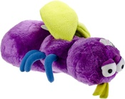 Large-Purple - goDog Bugs Fly with Chew Guard