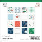 Paper Pack 6x6 - Holiday Vibes - Pinkfresh Studio