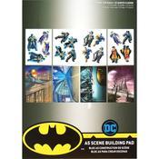 Batman DC Comics A5 Scene Building Pad - PRE ORDER