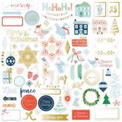 Ephemera Die-Cuts - Holiday Vibes - Pinkfresh Studio