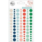 Enamel Sticker Dots - Holiday Vibes - Pinkfresh Studio