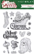 Here Comes Santa - PhotoPlay Photopolymer Stamp
