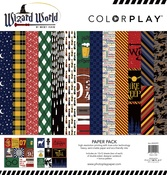 """Wizard World, 6 Designs/2 Each + Bonus - ColorPlay Collection Pack 12""""X12"""""""