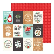 Merry Little Christmas Paper - Cozy & Bright - Pebbles