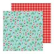 Santa Land Paper - Cozy & Bright - Pebbles