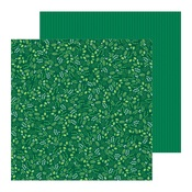 Winter Green Paper - Cozy & Bright - Pebbles