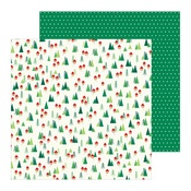 Home For Christmas Paper - Cozy & Bright - Pebbles