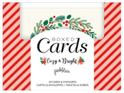 Cozy & Bright Boxed Card Set - Pebbles