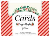 Cozy & Bright Boxed Card Set - Pebbles