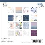 Indigo Hills 2 6 x 6 Paper Pad - Pinkfresh