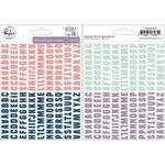 Indigo Hills 2 Mini Alpha Stickers - Pinkfresh - PRE ORDER