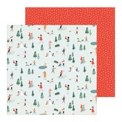 Frosty Days Paper - Merry Days - Crate Paper
