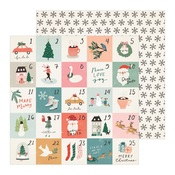 Stockings Paper - Merry Days - Crate Paper