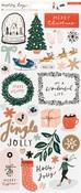 Merry Days Cardstock Stickers - Carta Bella