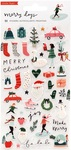 Merry Days Puffy Stickers - Crate Paper