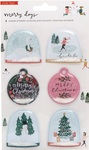 Merry Day Shaker Stickers - Crate Paper