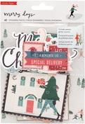 Merry Days Ephemera Pack - Crate Paper