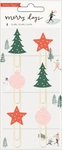 Merry Days Epoxy Paper Clips - Crate Paper