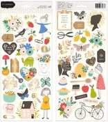 Along The Way Sticker Sheets - Pebbles - PRE ORDER