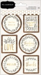 Along The Way Layered Stickers - Pebbles - PRE ORDER