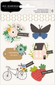 Along The Way Cardstock & Acetate Stickers - Pebbles - PRE ORDER
