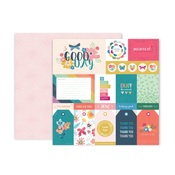 Paper #1 - Whimsical - Pink Paislee